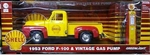 GreenLight- 1953 Ford F-100 & Vintage Gas Pump