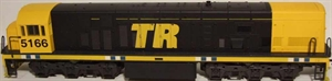 Frateschi - DX Locomotive Black/Yellow (3154-5166)