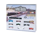 Bachmann - Empire Builder Train Set
