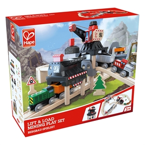 Hape- Lift & Play Mining Set