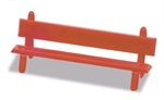 Peco - Platform Seats Red (LK26)